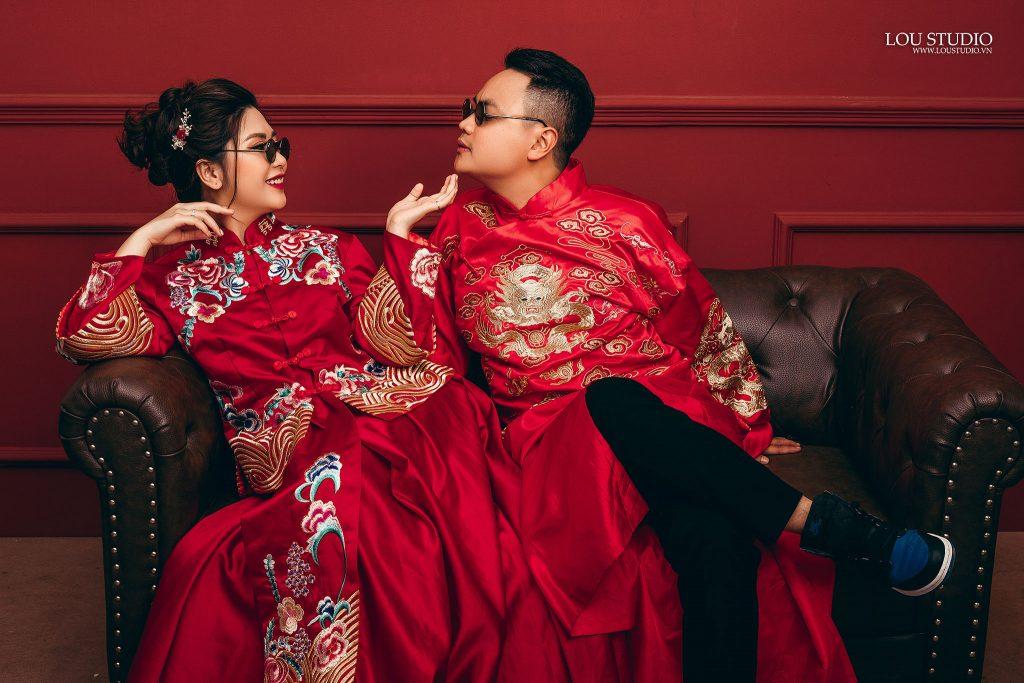 Áo cưới truyền thống Trung Quốc có gì độc đáo