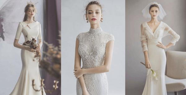 váy và áo dài cưới đẹp nhất
