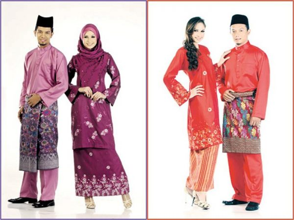trang phục truyền thống Malaysia