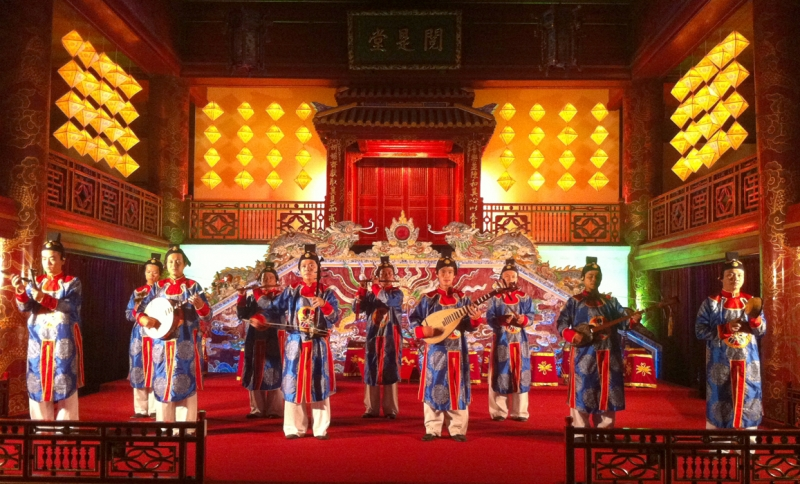 Di sản văn hóa, Nhã nhạc cung đình Huế